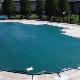 Winter Cover Green Leaf Pool Cover 5Metre ROUND