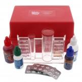 Blue Devil Chlorine/Bromine, pH, Acid Demand, Total Alkalinity Deluxe Pool and Spa Test Kit