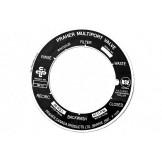 Astral Hurlcon Praher Filter Multiport Valve 40mm Label / Decal 75054