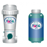 FROG Natural Pool Purifier and Chlorine Tablet Feeder POOLS UP TO 30,000 LITRES