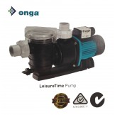 Onga Leisure Time Pool Pump Speeds Available: 400W 0.5HP, 550W 0.75HP, 750W 1HP and 1100W 1.5HP
