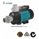 Onga Leisure Time Solar Pool Pump Speeds Available: 400W, 550W and 750W