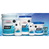 Purex Pool Chlorine Low Residue Calcium Hypochlorite Sizes Available: 2KG, 4KG and 10KG