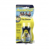 AQUACHEK Yellow FREE CHLORINE / pH / TOTAL ALKALINITY / CYANURIC ACID Test Strip 50 Strips