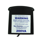 Spa Electrics 12V, 200VA DUAL TRANSFORMER