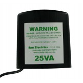 Spa Electrics 12V, 25VA SINGLE TRANSFORMER