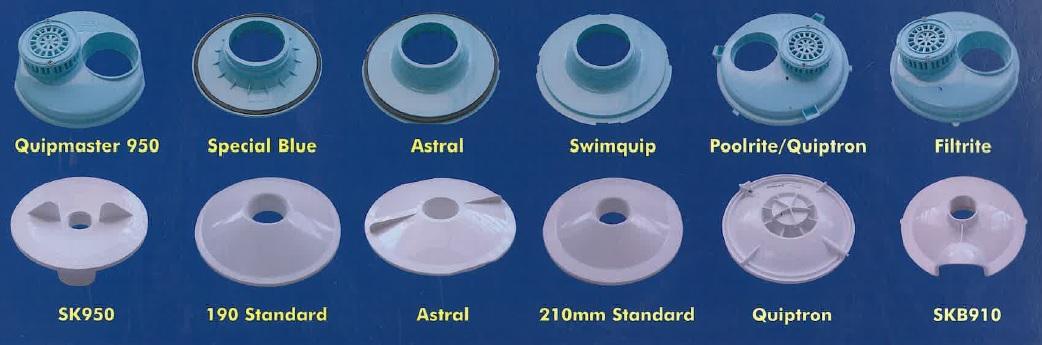 Kreepy Krauly Autoskim Vacuum Plates