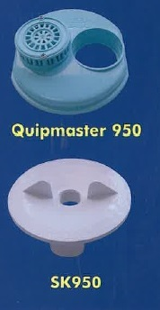 Kreepy Krauly Autoskim Plate Quipmaster 950